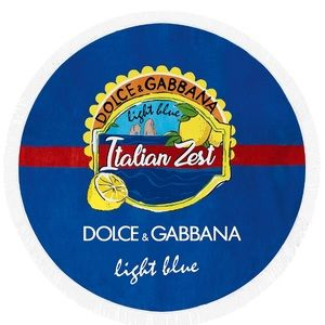 Authentic Dolce and Gabbana Beach Towel